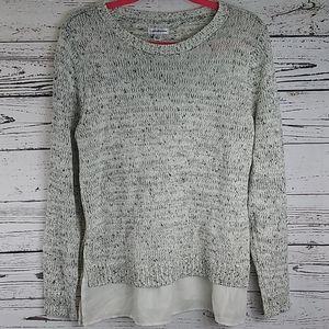 Croft&Barrow knit sweater size large